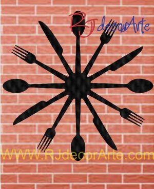 Reloj restaurante