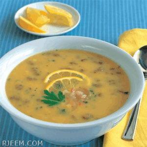 Photo of حساء العدس بالحامض