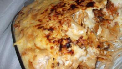 Photo of وصفة مكرونة بصلصلة الجبن