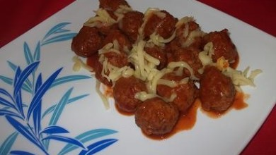 Photo of وصفة ايطالية كرات اللحم بالجبن