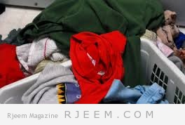نزيف الوان الملابس