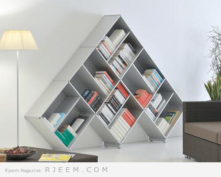 ديكورات مكتبات مميزة 2014