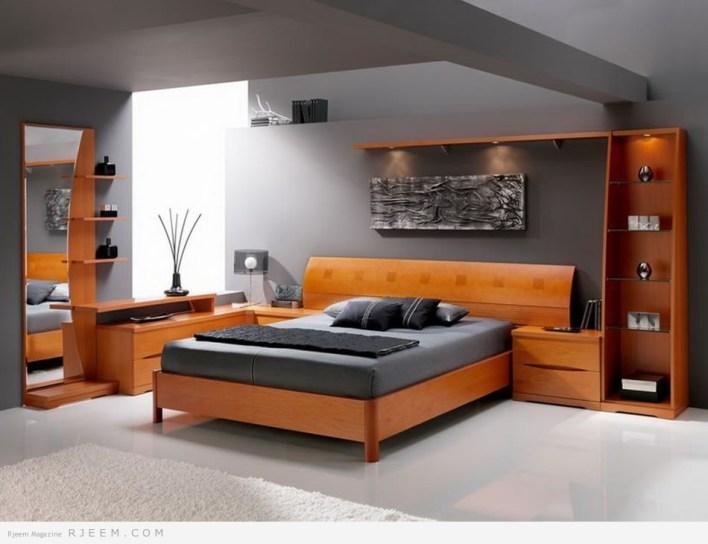 ديكورات غرف نوم بألوان مميزة