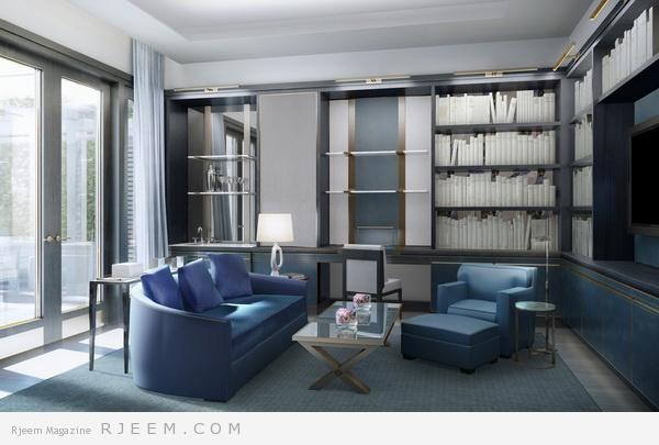ديكور بتصاميم وألوان عصرية مميزة