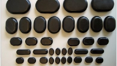 كيفية استخدام الحجارة الساخنة لتدليك البطن