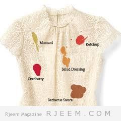 الحلول المثلى للقضاء على بقع الملابس المختلفة