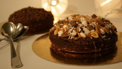 Photo of كعكة الشوكولاته مع الفستق