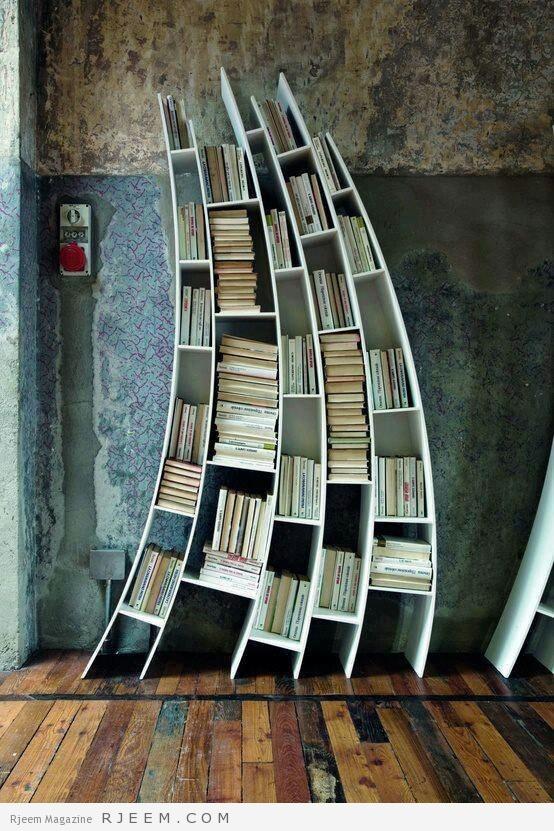 ديكورات مكتبات روعه