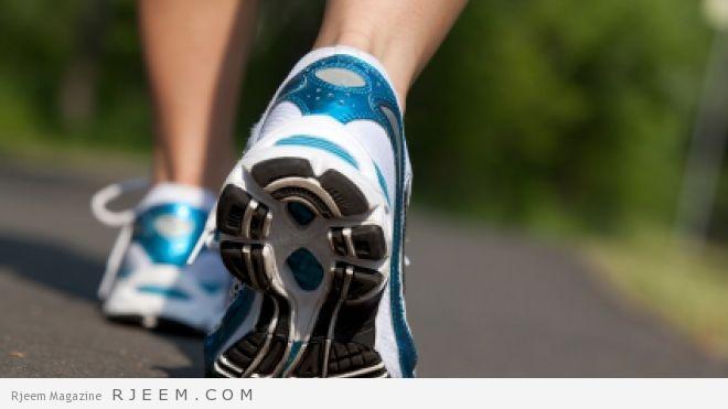 رياضة المشي  أفضل رياضة لتخلص من الكرش