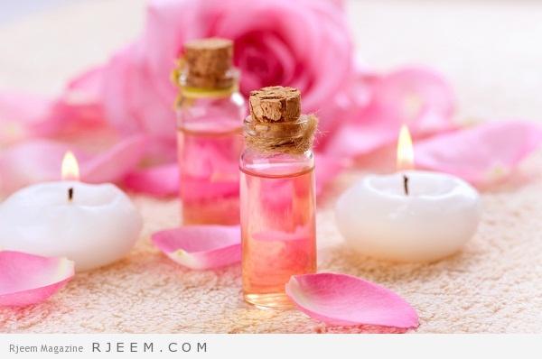 زيت الورد - فوائد زيت الورد الجمالية