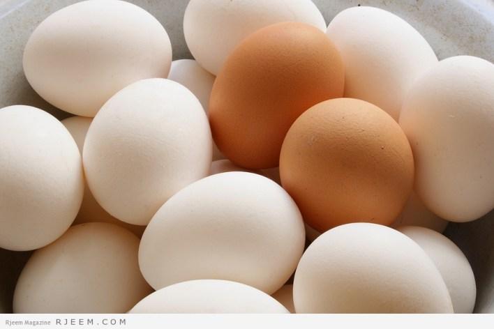 البيض - فوائد البيض الصحية والعلاجية