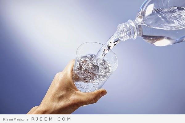 التخلص من الماء الزائد في الجسم - طرق التخلص من سوائل الجسم
