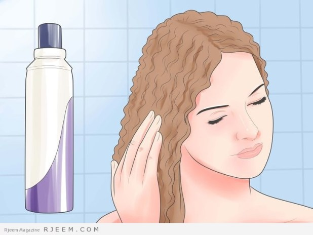 6 طرق للعناية بالشعر المجعد