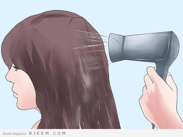 6 نصائح عند استعمال مجفف الشعر