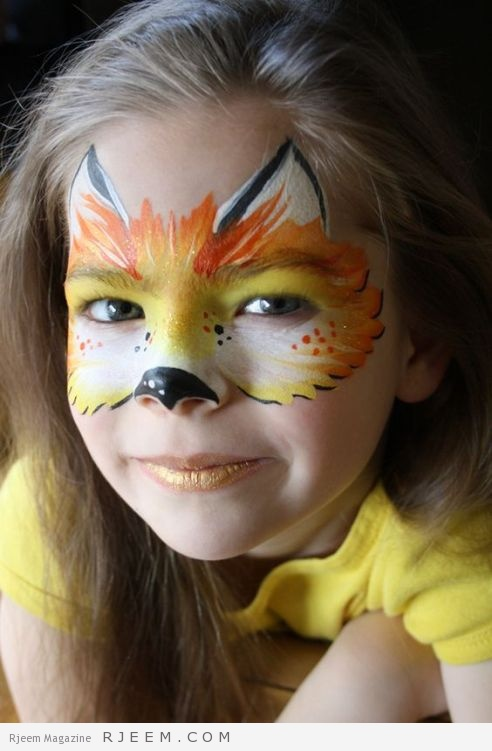 Fox Face Painting by Let's Bounce Inflatables Ltd.: