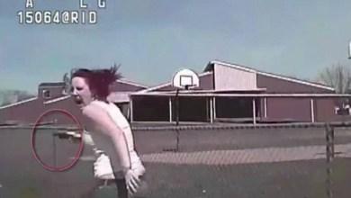 Photo of فيديو: بعد عملية مطاردة معقّدة.. شرطي أمريكي يدهس فتاة مُسلحة ويرديها قتيلة!