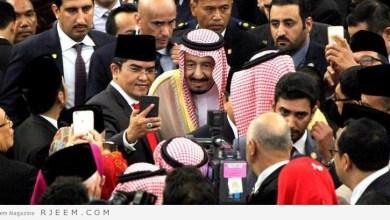 Photo of شاهد: أعضاء البرلمان الإندونيسي يتنافسون لالتقاط سيلفي مع الملك سلمان
