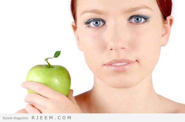 قناع التفاح والبرتقال