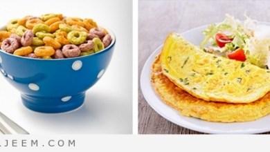 Photo of لا تقدمي هذه الأطباق لطفلك في وجبة الفطور