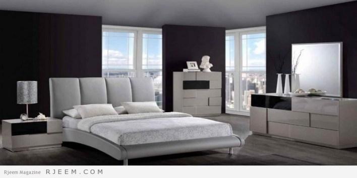 احدث غرف نوم عرسان كاملة تصميم حديث