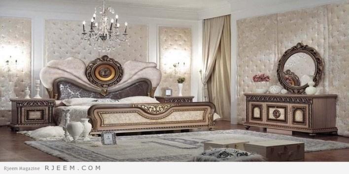 غرف نوم كلاسيك تركي