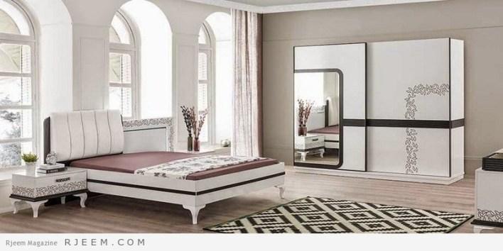 احدث غرف نوم عرسان كاملة كالفنادق