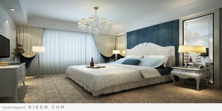 غرف نوم كلاسيك عصرية