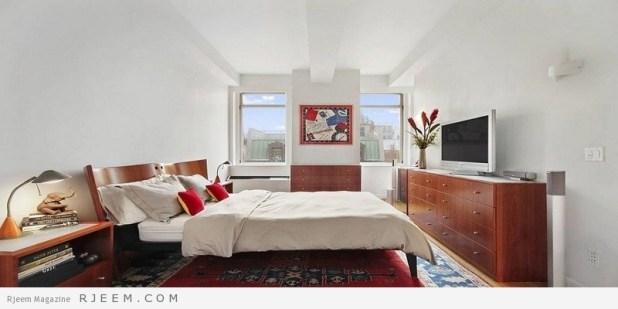 غرف نوم مودرن بالوان جميلة