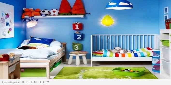 ديكورات غرف نوم اولاد اطفال