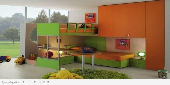 ديكورات غرف نوم اولاد رائعة جداً