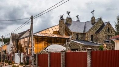 Photo of بالصور: منزل مرعب مصمّم من الجماجم والهياكل
