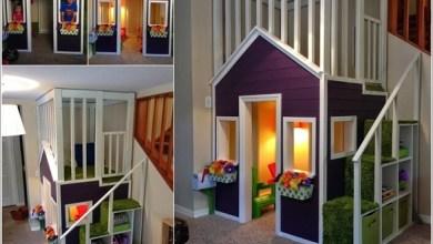Photo of كيف تصمم منزلاً صغيراً للعب الأطفال