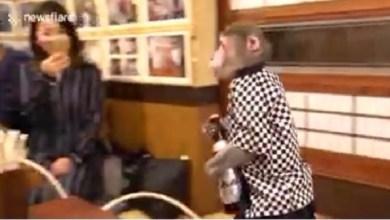 Photo of بالفيديو: مقهى ياباني يوظف القرود لخدمة الزبائن