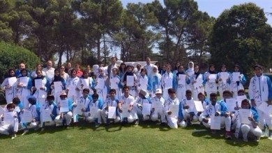 Photo of بالصور: طلبة الإمارات في ختام معسكرهم التدريبي ببرشلونة