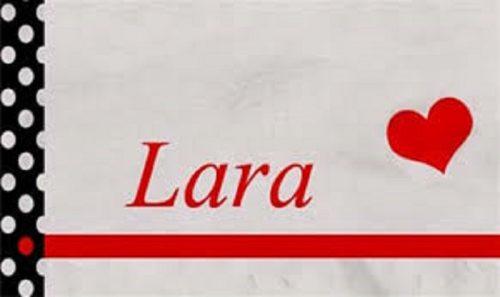 نتيجة بحث الصور عن شعر عن اسم لارا