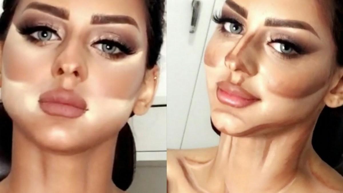 Image result for طريقة عمل الكونتور بالصور