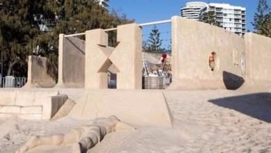 Photo of افتتاح أول فندق مصنوع من الرمال في العالم على شاطئ أسترالي