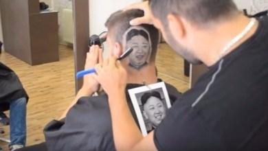 Photo of بالفيديو: حلاق ينحت صورة زعيم كوريا الشمالية على رؤوس زبائنه