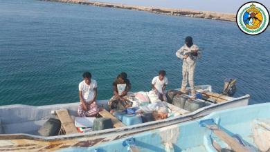 """Photo of بعد إطلاق النار.. """"حرس الحدود"""" يحبط تهريب ربع طن """"حشيش"""" على قارب ويضبط المهربين والمستقبلين"""