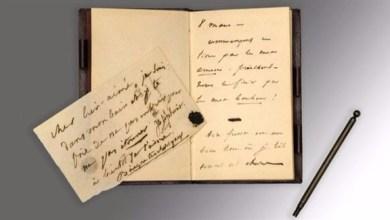 Photo of مدونة حب للكاتب الفرنسي فيكتور هوغو تباع بـ 256 ألف دولار