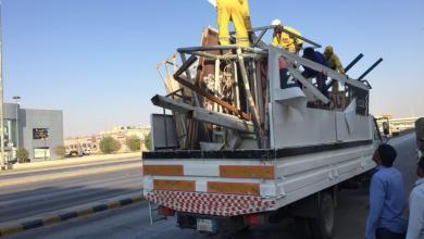 Photo of أمانة الرياض تزيل أكثر من 7000 لوحة مخالفة