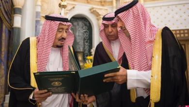 Photo of خادم الحرمين يتسلم التقرير السنوي لديوان المراقبة العامة