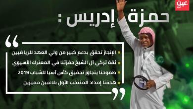 Photo of حمزة إدريس: شباب الأخضر يحظون بدعم لا محدود