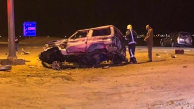 Photo of حائل.. وفاة وإصابة 8 أشخاص في حادث تصادم