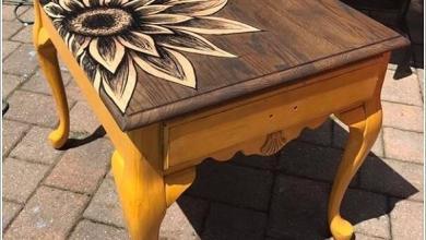 Photo of 10 وسائل لإعادة إحياء طاولة قديمة في المنزل