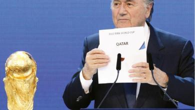 Photo of بلاتر: مؤامرة فرنسية منحت قطر مونديال 2022