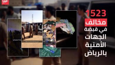 Photo of الإطاحة بـ1523 مخالفا في الرياض