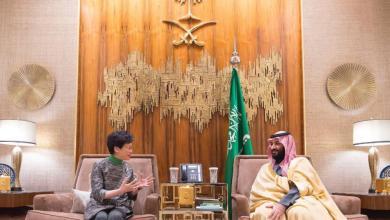 Photo of ولي العهد يلتقي الرئيسة التنفيذية لحكومة هونج كونج
