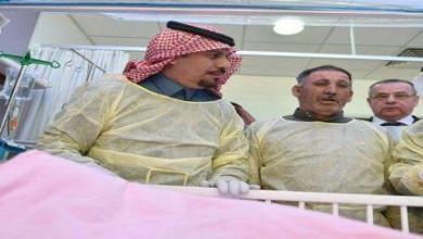 Photo of وزير الحرس الوطني يزور الطفلة حنين