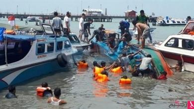 Photo of ارتفاع حصيلة ضحايا حادث انقلاب عبارة لـ 12 قتيلاً في إندونيسيا